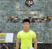 职业健身教练就业明星(陈英杰)