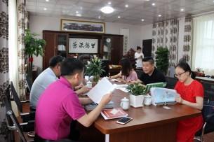 中国网走进新江南教育集团(赣州校区)